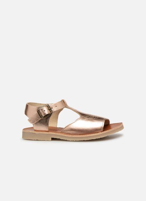 Sandales et nu-pieds Young Soles Belle Argent vue derrière