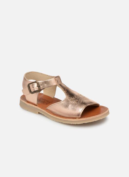 Sandales et nu-pieds Young Soles Belle Argent vue détail/paire