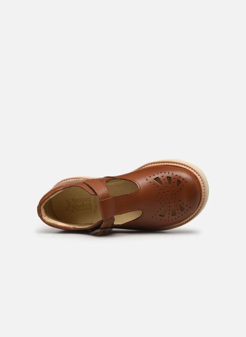 Sandales et nu-pieds Young Soles Belle Marron vue gauche