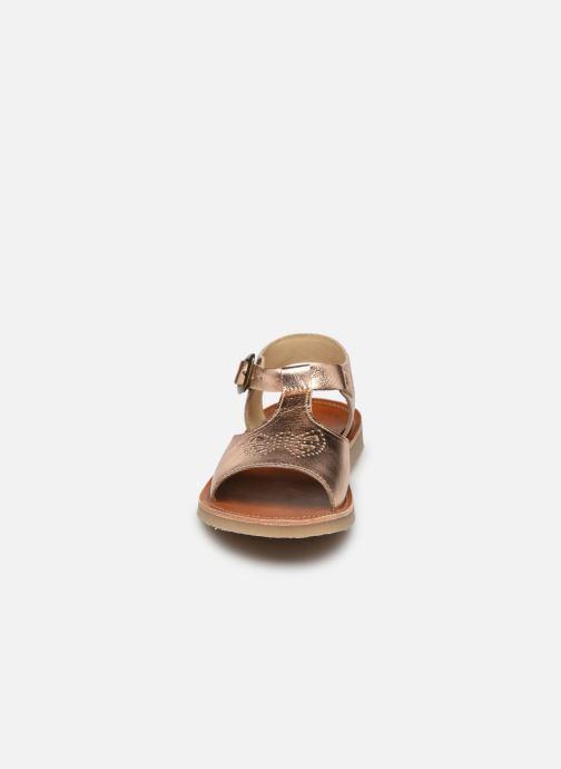 Sandali e scarpe aperte Young Soles Belle Argento modello indossato