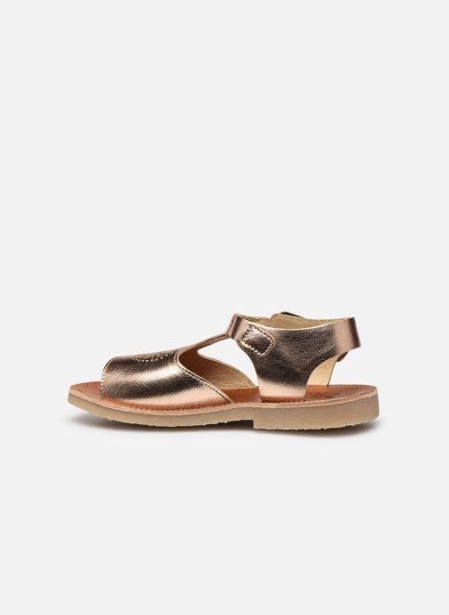 Sandali e scarpe aperte Young Soles Belle Argento immagine frontale