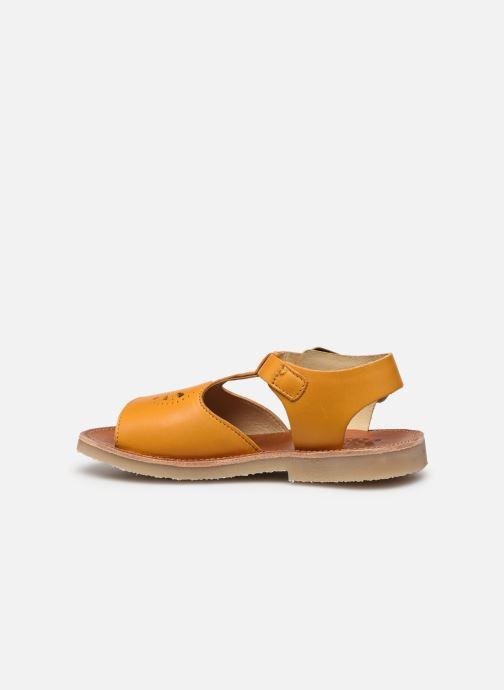 Sandales et nu-pieds Young Soles Belle Jaune vue face