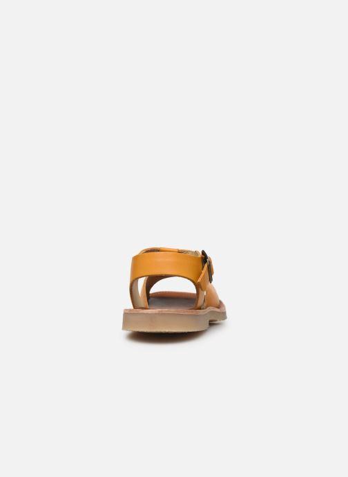 Sandali e scarpe aperte Young Soles Belle Giallo immagine destra