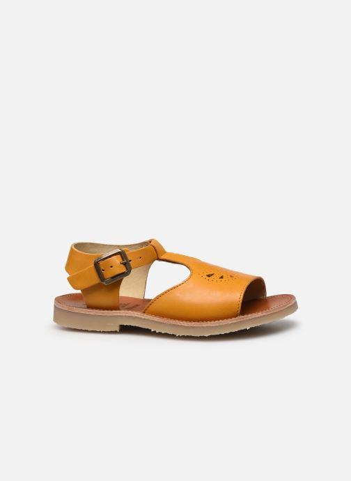 Sandales et nu-pieds Young Soles Belle Jaune vue derrière