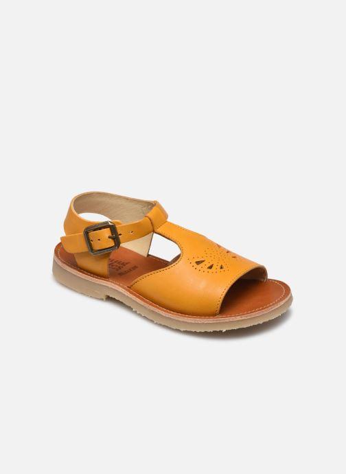 Sandales et nu-pieds Young Soles Belle Jaune vue détail/paire