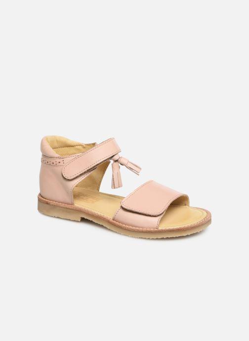 Sandales et nu-pieds Young Soles Flo Rose vue détail/paire