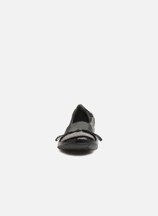 Ballerines Les P'tites Bombes Ella F Noir vue portées chaussures