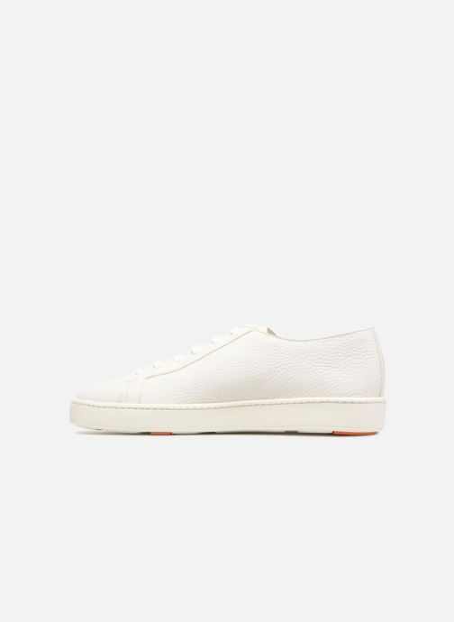 Trainers Santoni Clean Icon White front view