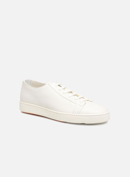 Trainers Santoni Clean Icon White detailed view/ Pair view