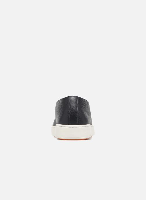 Trainers Santoni Clean Icon Blue view from the right