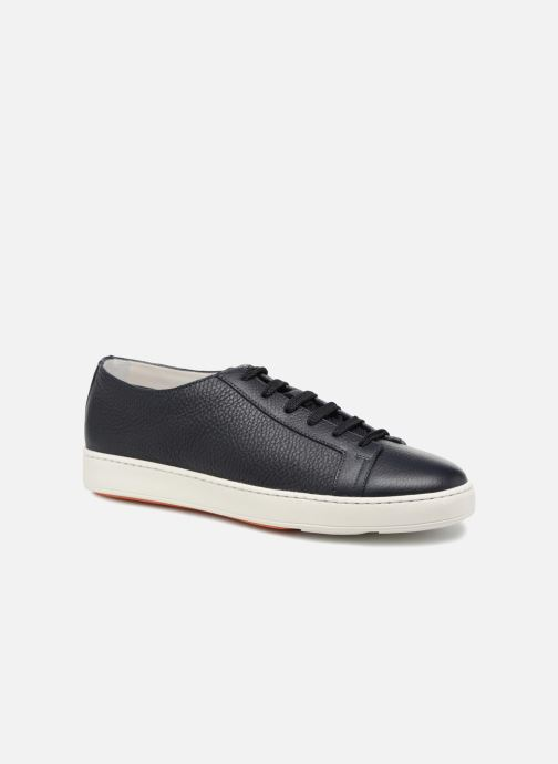 Trainers Santoni Clean Icon Blue detailed view/ Pair view