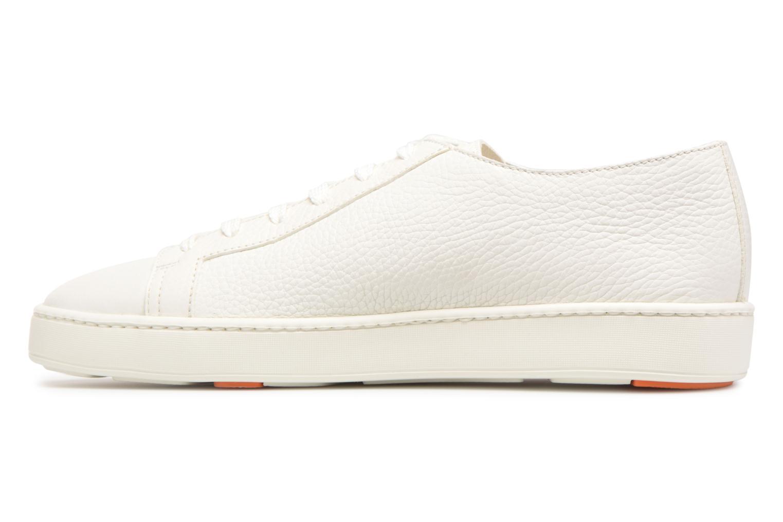 Sneakers Santoni Clean Icon Wit voorkant