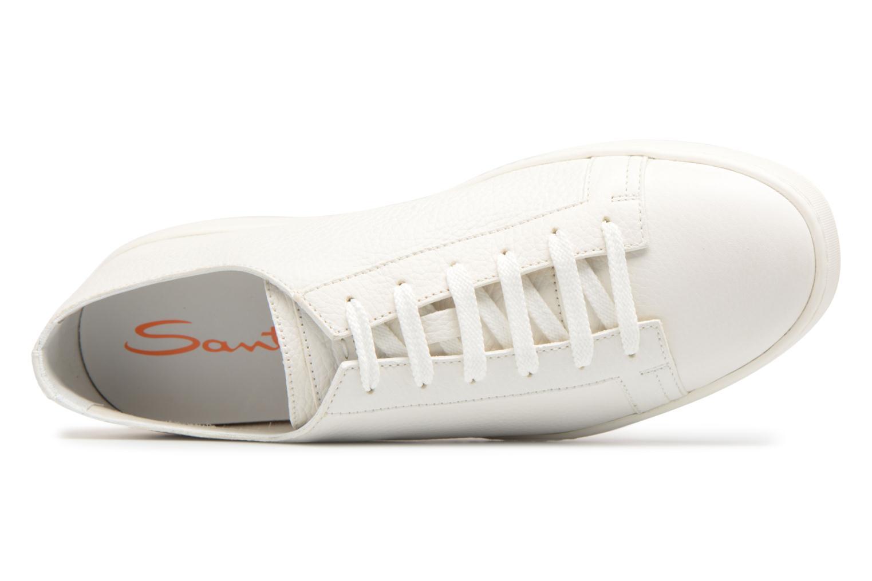 Sneakers Santoni Clean Icon Wit links