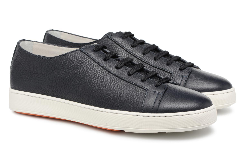 Sneakers Santoni Clean Icon Blauw 3/4'