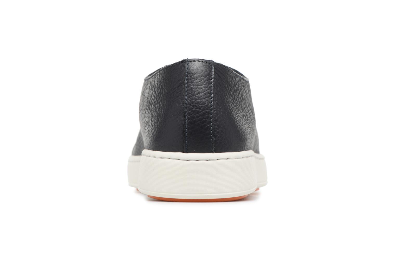Sneakers Santoni Clean Icon Blauw rechts
