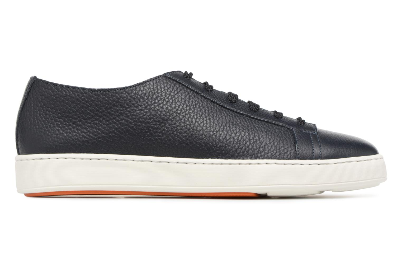 Sneakers Santoni Clean Icon Blauw achterkant
