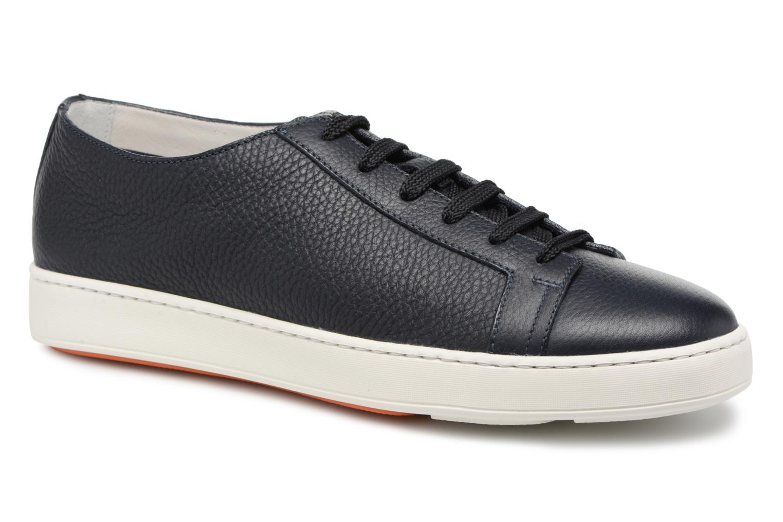 Sneakers Santoni Clean Icon Blauw detail