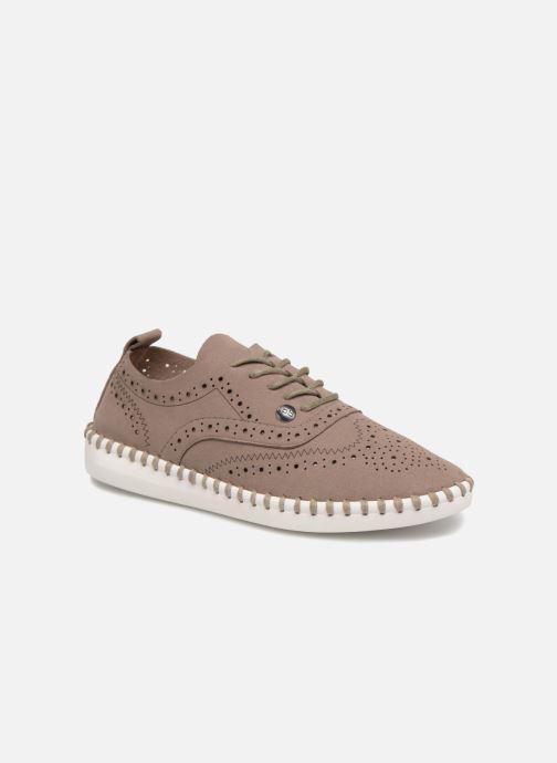 Chaussures à lacets Les P'tites Bombes Diva Marron vue détail/paire