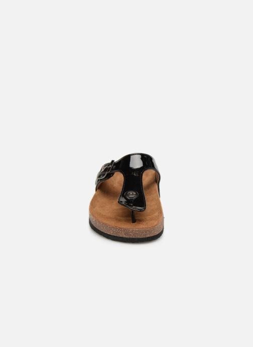 Clogs & Pantoletten Les P'tites Bombes ZELDA VERNIS schwarz schuhe getragen