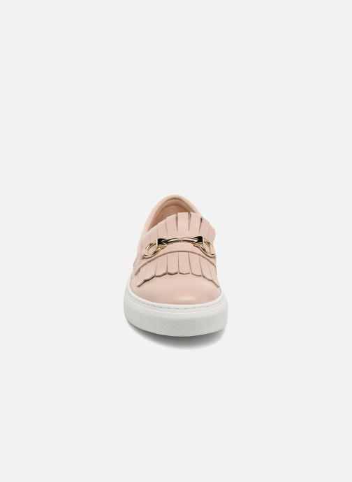 Sneakers Billi Bi CALLEIDA Beige modello indossato