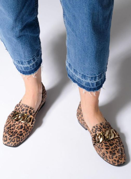 Loafers Billi Bi CATOCALA Multicolor view from underneath / model view
