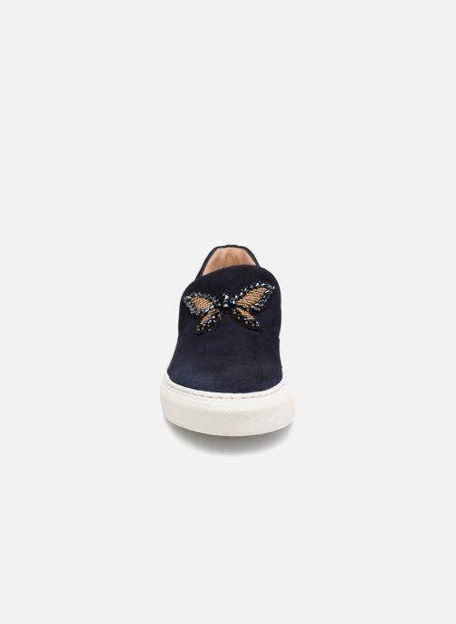 Sneakers Billi Bi ENARGYA Azzurro modello indossato