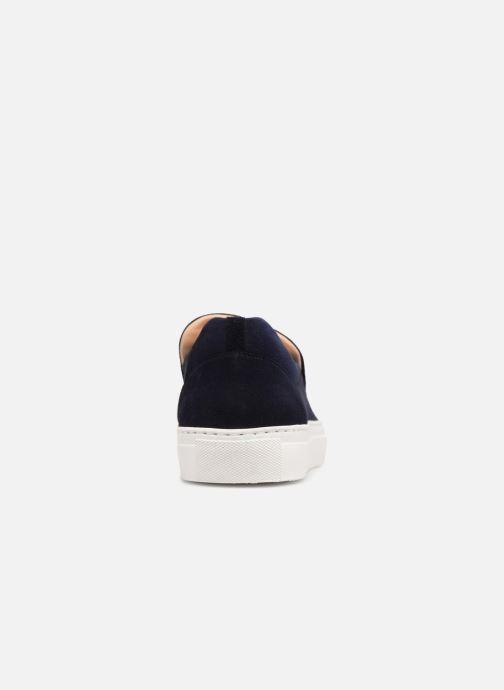 Baskets Billi Bi ENARGYA Bleu vue droite