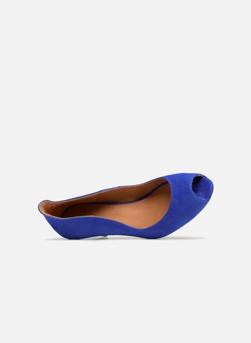Escarpins Billi Bi EUMENES Bleu vue gauche