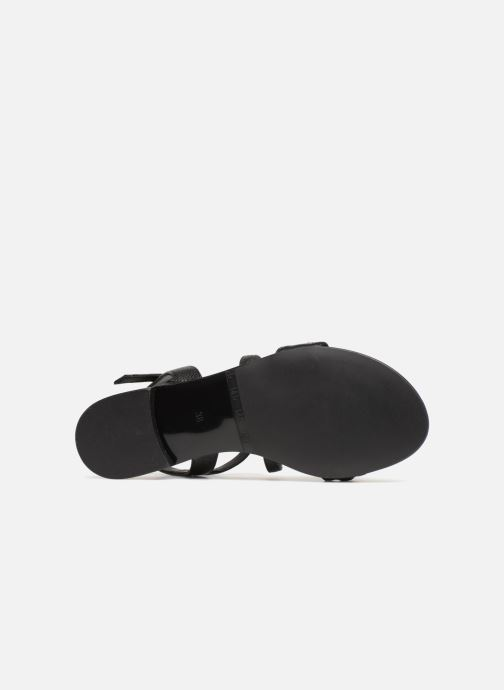 Sandales et nu-pieds Billi Bi LIBELLULA Noir vue haut