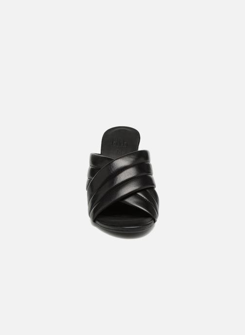 Zuecos Billi Bi MACARIA Negro vista del modelo