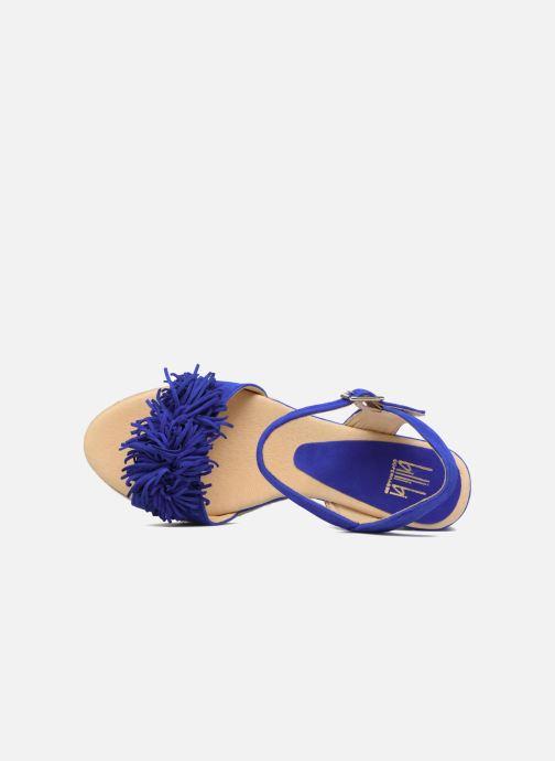 Espadrilles Billi Bi NYMPHES Bleu vue gauche