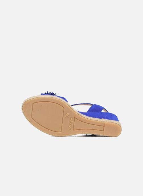 Espadrilles Billi Bi NYMPHES Bleu vue haut