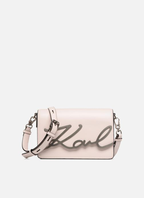 Handbags KARL LAGERFELD K Signature Essential Shoulder Bag Pink detailed  view  Pair view 9128ca6b96dd1