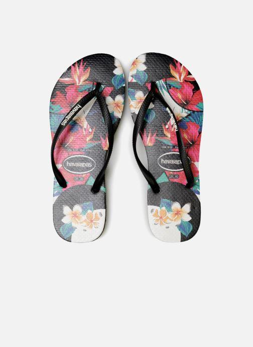 Havaianas Floral Slim Tropical Black IYybgv7mf6