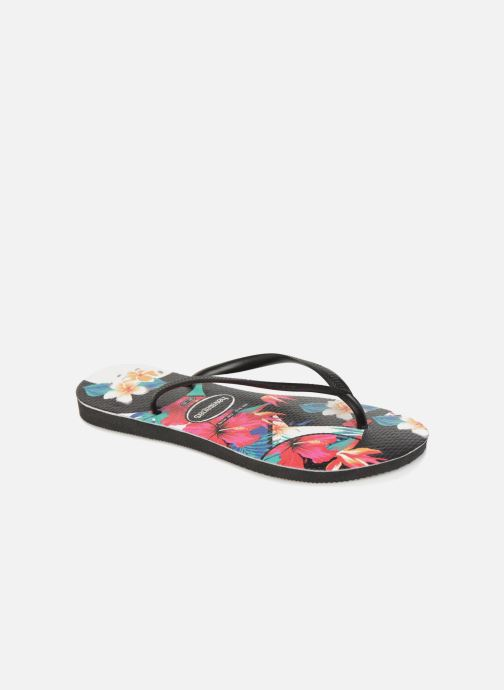 c00fe4ee27a1 Flip flops Havaianas Slim Tropical Floral Multicolor detailed view  Pair  view