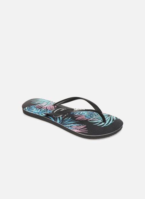 Slippers Dames Slim Tropical Floral