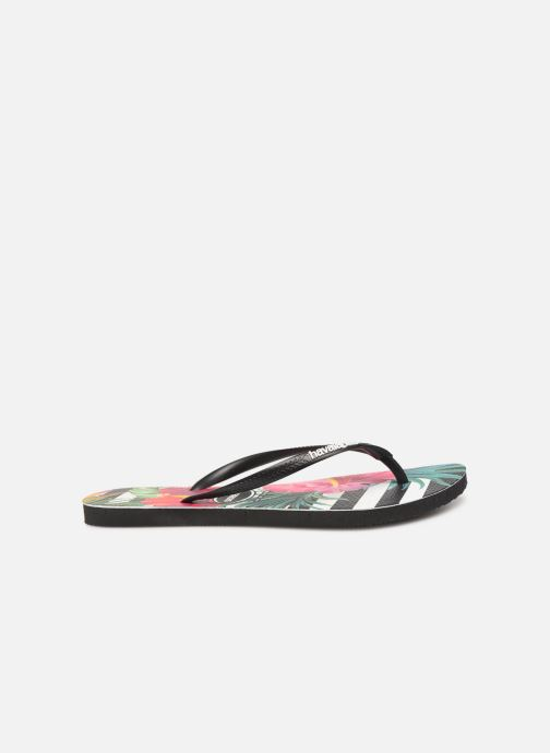 Tongs Havaianas Slim Tropical Floral Multicolore vue derrière