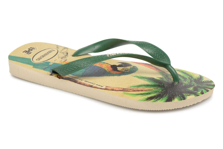 Flip flops Havaianas Ipê Multicolor detailed view/ Pair view