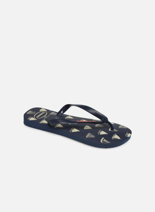 Slippers Havaianas Top Nautical Blauw detail
