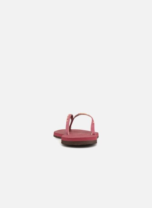Flip flops Havaianas You Maxi Burgundy view from the right