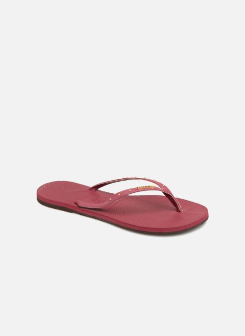 Flip flops Havaianas You Maxi Burgundy detailed view/ Pair view
