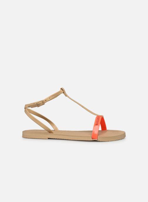 Sandali e scarpe aperte Havaianas You Belize Beige immagine posteriore