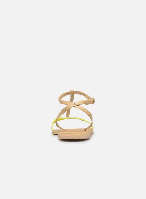 Sandales et nu-pieds Havaianas You Belize Jaune vue droite