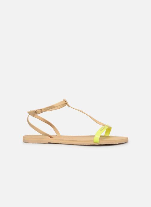 Sandales et nu-pieds Havaianas You Belize Jaune vue derrière