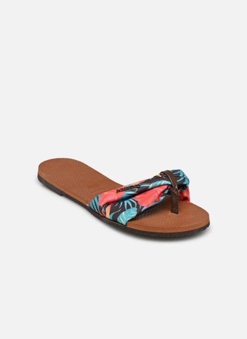 Tongs Havaianas You Saint Tropez Multicolore vue portées chaussures
