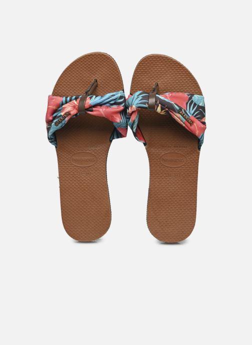 Tongs Havaianas Hav. You Saint Tropez W Multicolore vue détail/paire