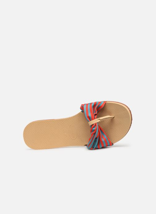 Tongs Havaianas You Saint Tropez Multicolore vue gauche