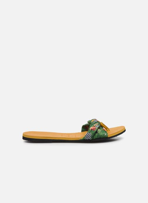 Chanclas Havaianas You Saint Tropez Amarillo vistra trasera