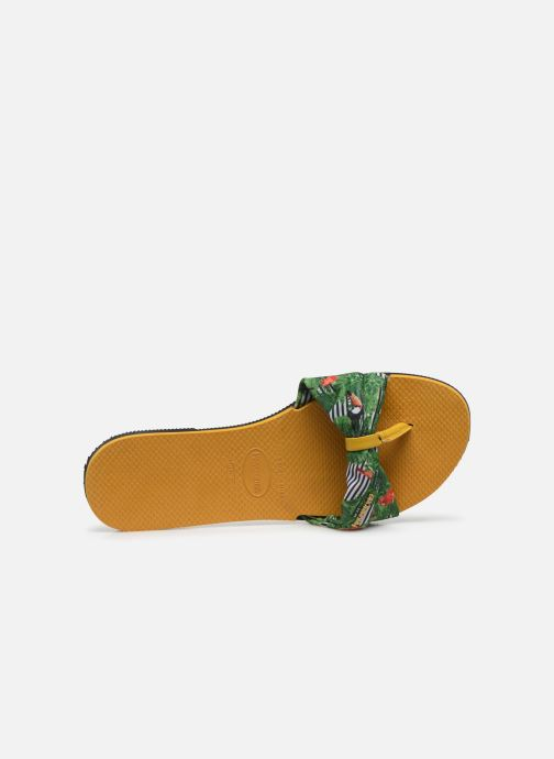 Chanclas Havaianas You Saint Tropez Amarillo vista lateral izquierda