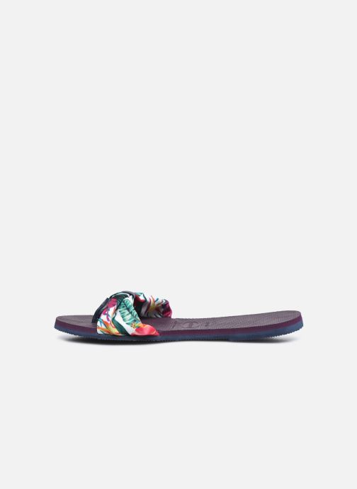 Chanclas Havaianas You Saint Tropez Violeta      vista de frente